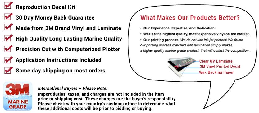 yamaha 115hp v4 precision blend outboard engine decal kit 115 decals ebay. Black Bedroom Furniture Sets. Home Design Ideas