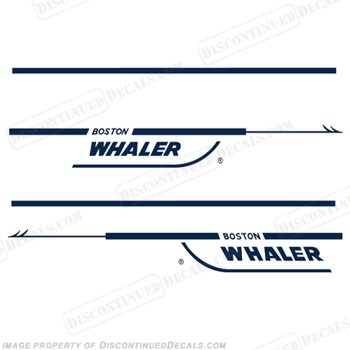 Boston Whaler 21 Walk-Around Decal Kit - Any Color!