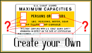 Create Your Own Capacity Decals