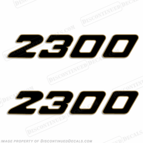 Century Boats 2300 Logo Decals (Set of 2)