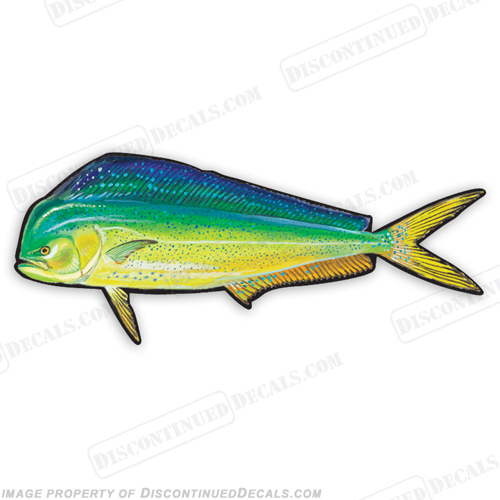 Dolphin Decal - 9""