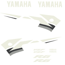 2003 Yamaha R6 Full Replica Decal Kit - Blue