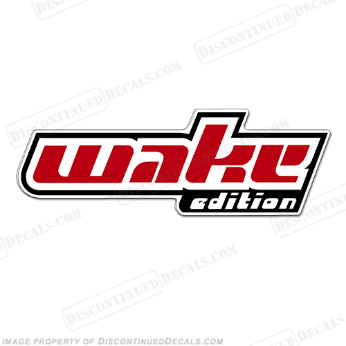 "Sea-Doo ""Wake Edition"" Decal"