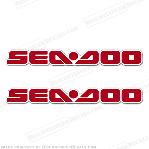 Sea-Doo Decals fits 2005 RXT - Red/White