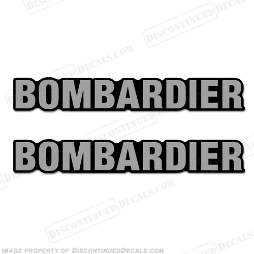Sea-Doo Bombardier Seahawk Decals - Set of 2