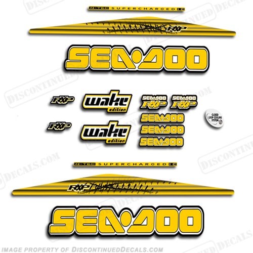 Sea-Doo 2004-2005 RXP PWC Decals
