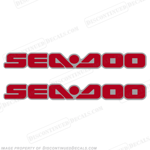 Sea-Doo Decals fits 2005 RXT - Red/Silver